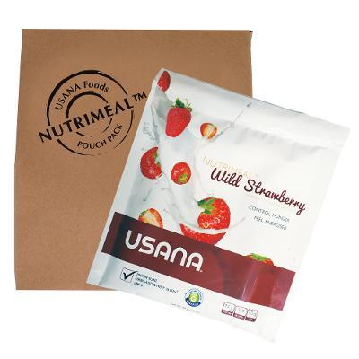 usana nutrimeal single serving strawberry