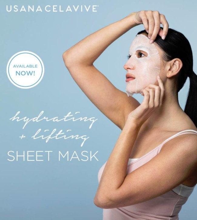 celavive sheet lifting mask